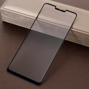 RURIHAI 3D Electroplated Edge Full Tempered Glass Screen Protector for LG G7 ThinQ