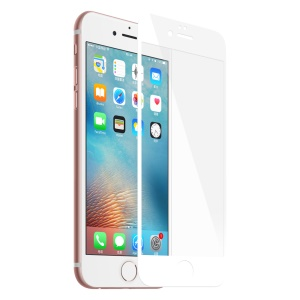 BASEUS for iPhone 6s Plus/6 Plus Stainless Steel Corners Screen Protector 0.15mm 9H Anti-explosion - White