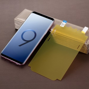 Soft PET Full Size LCD Screen Protector Film for Samsung Galaxy S9+ G965