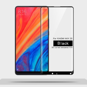 MOFI 3D Curved Complete Covering Tempered Glass Screen Protector for Xiaomi Mi Mix 2s - Black
