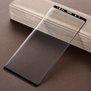 Full Coverage Tempered Glass Screen Protector for Samsung Galaxy Note9 - Black
