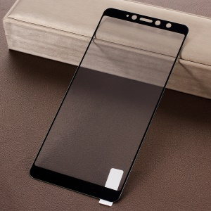 Full Size Tempered Glass Screen Protector Guard Film for Xiaomi Redmi S2 / Redmi Y2 - Black