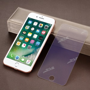 Eye-protection Anti-blue-ray Anti-explosion Full Size Tempered Glass Guard Film for iPhone 8 / 7 4.7 inch