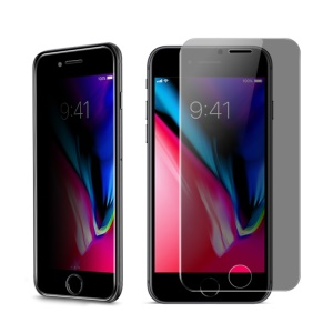 IMAK Anti-peep 9H Tempered Glass Screen Guard Film for iPhone 8 / 7 4.7 inch