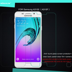 NILLKIN Amazing H Tempered Glass Screen Protector for Samsung Galaxy A3 SM-A310F (2016) Anti-Explosion