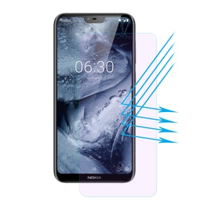 HAT PRINCE 0.26mm 2.5D Anti-blue-ray 9H Tempered Glass Screen Protector for Nokia 6.1 Plus / X6 (2018)