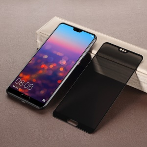 Anti-peep Full Screen Tempered Glass Protector Guard Film for Huawei P20 Pro