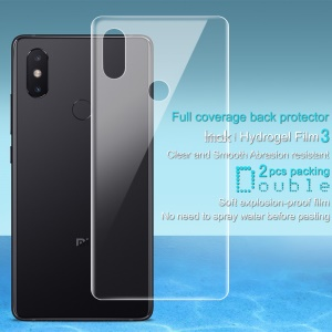2PCS/Set IMAK Soft Hydrogel Back Cover Protector Guard Film for Xiaomi Mi 8 SE (5.88-inch)
