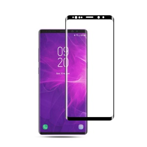 MOCOLO 3D Curved Full Size High-definition Tempered Glass Screen Protector for Samsung Galaxy Note9 N960