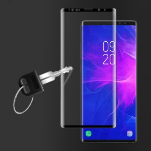 IMAK 3D Curved Full Cover Tempered Glass Screen Protector Film for Samsung Galaxy Note 9 - Black