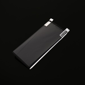 Full Cover Plated 0.1mm Soft PET Mobile Screen Protector Film for Samsung Galaxy Note9 N960 - Black