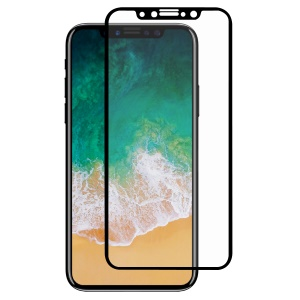 HAT PRINCE Full Glue Full Size 0.26mm 9H 2.5D Arc Edge Tempered Glass Screen Protector for iPhone X / Xs 5.8 inch