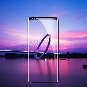 BASEUS 0.3mm Full Size Tempered Glass Screen Protector Film for Samsung Galaxy Note 9 - Black