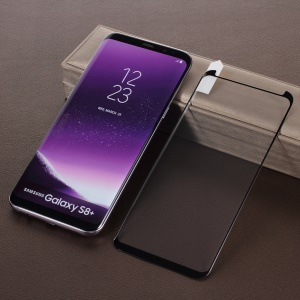 Full Glue Tempered Glass Full Size Screen Protector Film (Opening on Top) for Samsung Galaxy S8+ SM-G955