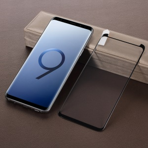 Full Glue Tempered Glass Full Screen Coverage Protector (Opening on Top) for Samsung Galaxy S9+ SM-G965