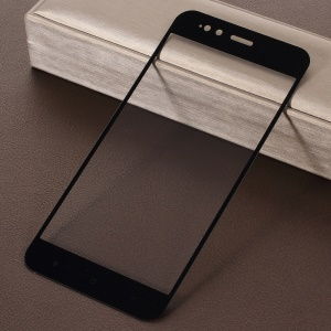 RURIHAI 0.26mm 2.5D Curved Tempered Glass Full Size Screen Protector Film for Xiaomi Mi A1/5X - Black