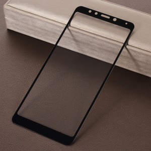 RURIHAI 0.26mm 2.5D Curved Tempered Glass Full Size Screen Protector Film for Xiaomi Redmi 5 - Black