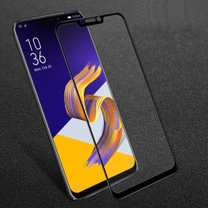 IMAK 9H Full Screen Coverage Tempered Glass Guard Film for Asus Zenfone 5Z ZS620KL / Zenfone 5 ZE620KL- Black