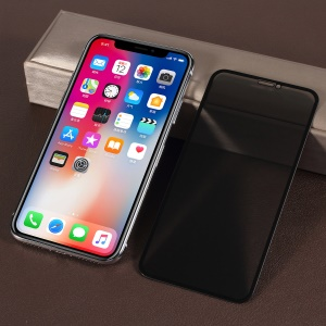 RURIHAI 4D Curved Anti-spy Full Size Tempered Glass Screen Protector Film for iPhone Xs / X