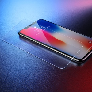 "BASEUS 0.3mm Full Size Tempered Glass Screen Film Cover for iPhone 11 6.1"" (2019)/ XR 6.1-inch - Transparent"