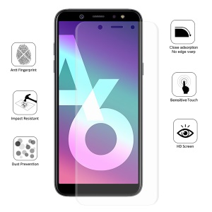 HAT PRINCE 0.1mm Anti-explosion Full Coverage Screen Protector Film for Samsung Galaxy A6 (2018)