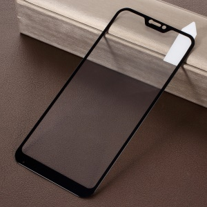 RURIHAI Solid Defense Tempered Glass Screen Protector for Xiaomi Mi A2 Lite / Redmi 6 Pro - Black