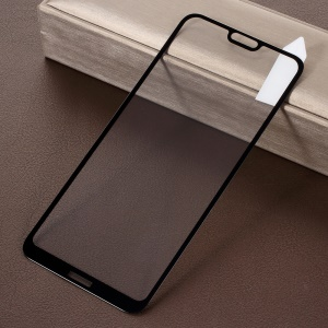 RURIHAI Solid Defense Tempered Glass Screen Protector Guard Film for Nokia X6 (2018) - Black