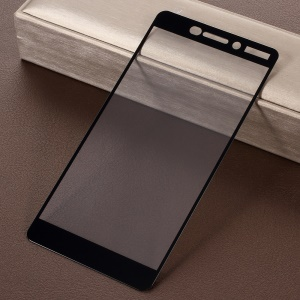 RURIHAI 0.26mm 2.5D Silk Printing Tempered Glass Full Screen Protector Film for Nokia 6.1 (5.5-inch)