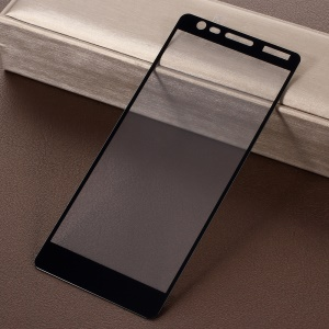 RURIHAI for Nokia 3 0.26mm 2.5D AB Glue Silk Printing Full Size Tempered Glass Protector