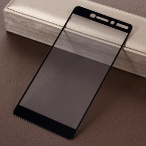 RURIHAI for Nokia 6 0.26mm 2.5D AB Glue Silk Printing Full Size Tempered Glass Protector Film