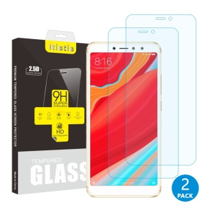 2Pcs/Set ITIETIE 2.5D 9H Tempered Glass Screen Protector Film for Xiaomi Redmi S2 / Y2
