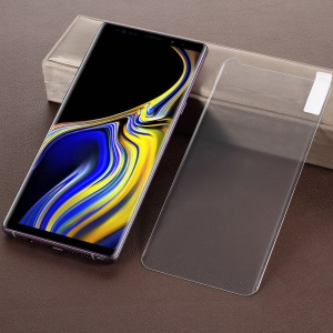 For Samsung Galaxy Note9 N960 DIY Curved Full Sized Tempered Glass Screen Protective Film + Nanoscale Optics Adhesive + Nanoscale Light