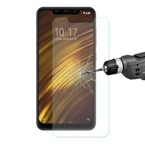 ENKAY 0.26mm 9H Tempered Glass Screen Protector 2.5D Arc Edge for Xiaomi Pocophone F1/ Poco F1