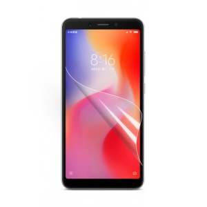 Ultra Clear LCD Screen Protector Film for Xiaomi Redmi 6 (Dual Camera) / Redmi 6A (Single Camera)