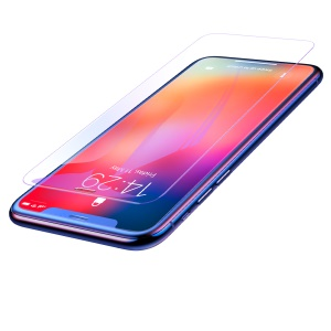 Baseus 0.3mm Full-glass Anti-bluelight Tempered Glass Film for iPhone Xs Max 6.5 inch - Transparent