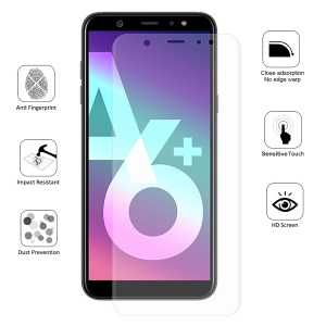 HAT PRINCE 0.1mm Anti-explosion Full Coverage Screen Protector for Samsung Galaxy A6+ (2018) / A9 Star Lite