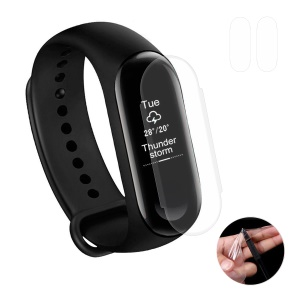 HAT PRINCE 2PCS Prime HD Films Transparents Souples En TPU Pour Xiaomi Mi Band 3