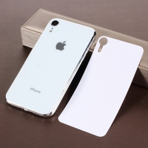 Carbon Fiber Texture PET Back Sticker Protector Film for iPhone 9 6.1 inch