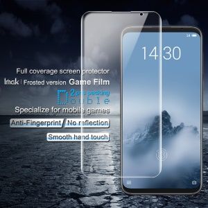 2PCS IMAK Frosted Hydrogel Game Film for Meizu 16 Plus Full Size Screen Protector Guard Film