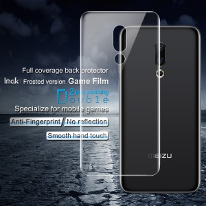 2PCS IMAK Frosted Hydrogel Game Film for Meizu 16 Plus Anti-scratch Protection Cell Phone Back Film