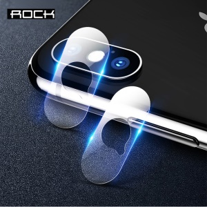 ROCK 2PCS Tempered Glass Camera Lens Protector Films for iPhone XS 5.8 inch / XS Max 6.5 inch