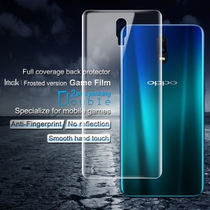 2PCS IMAK Frosted Hydrogel Game Film Anti-scratch Phone Back Film for Oppo R17