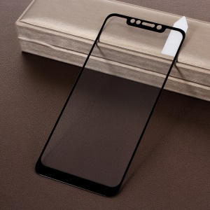 RURIHAI Solid Defense Tempered Glass Screen Protector for Xiaomi Pocophone F1 / Poco F1 in India - Black