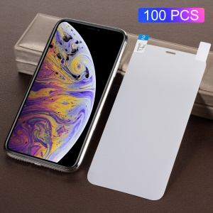 100PCS/Pack Full Coverage Anti-glare Screen Protector Guard Film for iPhone XR 6.1 inch