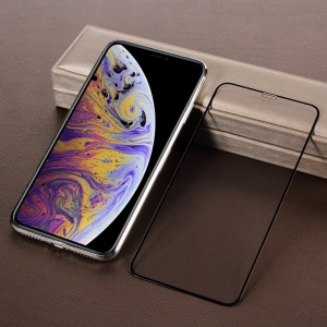 For iPhone XS Max 6.5 inch High Aluminum Tempered Glass Full Size Screen Protector