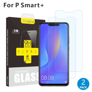 2Pcs/Set ITIETIE 2.5D 9H Tempered Glass Protector Screen Film for Huawei nova 3i / P Smart Plus
