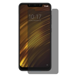 HAT PRINCE 0.26mm 9H 2.5D Anti-spy Tempered Glass Screen Guard Film for Xiaomi Pocophone F1 / Poco F1 (India)