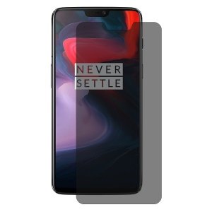 HAT PRINCE 0.26mm 9H 2.5D Anti-spy Tempered Glass Screen Guard Film for OnePlus 6