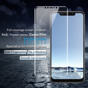 2PCS IMAK Frosted Hydrogel Game Film Anti-scratch Screen Protector Film [Full Covering] for Xiaomi Pocophone F1 / Poco F1 (India)