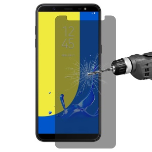 HAT PRINCE 0.26mm 9H 2.5D [Anti-spy] Tempered Glass Screen Film for Samsung Galaxy J8 (2018)